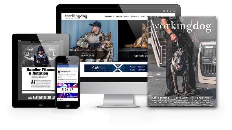 Subscribe to Working Dog Magazine